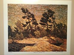 Tom Thomson Byng Inlet Georgian Bay Limited Edition Art Print Group Of Seven
