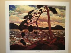 Tom Thomson West Wind Georgian Bay Limited Edition Art Print Group Of Seven