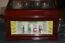 Mr Christmas Deluxe Animated Lighted Symphonium With Bells And Dancers
