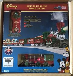 Lionel 6-82716 Disney Mickey's Holiday To Remember Christmas Lionchief Train