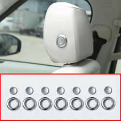 14pcs Car Head Pillow Adjustment Button Cover Trim For Land Rover Discovery 5