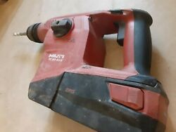 Hilti Te 6-a36 Drs Avr Sds Plus 36v Lithium Ion Cordless Rotary Hammer Drill