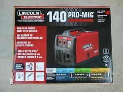 New Lincoln Electric 140 Pro-mig Mig/flux Corded Wire Feed Welder K2480-1 Nib