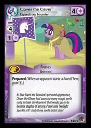My Little Pony Marks In Time Clover The Clever Equestrian Founder 33 C X3 Mlp