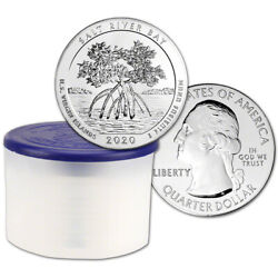 2020 Atb Salt River Bay Silver 5 Oz 25c Bu 10 Coins In Mint-issued Tube