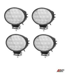 4x Powerful Oval 65w Led Work Lights 12-24v Lamp For Agricultural Truck Tractors