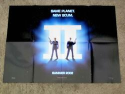Reproduction Promo Poster Men In Black Ii / Spider-man Double-sided