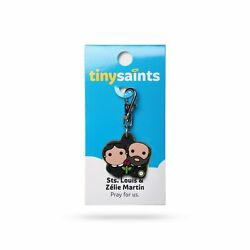 Tiny Saints St. Louis and St. Zelie Martin Parents of St. Therese CHARM Gifts $9.60