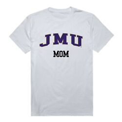 James Madison University Foundation Dukes JMU Mom Mother NCAA Cotton T Shirt   $29.95