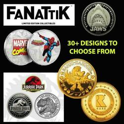 Range Of Collectable Coins By Fanattik Silver Gold Collectorand039s New 50+ Designs