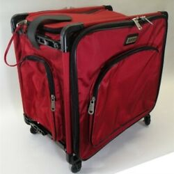 Tutto 20quot; Red Serger Tote On Wheels $246.50