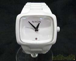 Nixon Automatic Watch The Ceramic Player F/s From Jp In Very Good