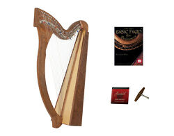 Roosebeck Minstrel Harp 29-string W/ Full Chelby Levers And Learn To Play Book
