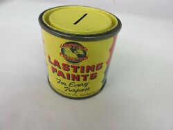 Vintage Advertising Lasting Paint Can Bank 704-