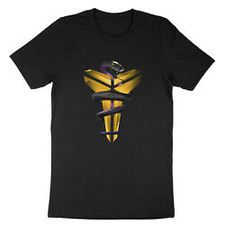 Black Mamba Snake Los Angeles Kobe Bryant Lakers Unisex T Shirt