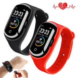 2 In 1 Smart Watch Heart Rate Sport Bracelet Bluetooth Headsets For Cell Phone