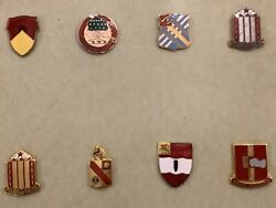 8 Us Army 1959 36th Artillery Group Babenhausen Named Officer Battalion Pins