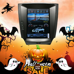 10.4and039and039 Tesla Vertical Screen Car Gps Radio Navi For Lexus Is250 Is350 2007-2015