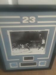 Limited Edition Framed Michael Jordan Ncaa Championship Picture