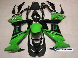 Kawasaki Motorcycle Custom Parts Zx-10r Cj-beet Racer Replica Exterior Kit F/s
