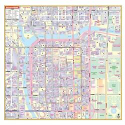 Chicago Loop Il Wall Map