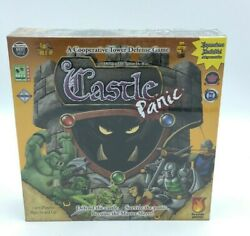 Castle Panic Board Game Cooperative Tower Defense Team Building Fsd1001 2019