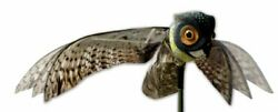 Bird-x Prowler Fake Owl Moving Wings-realistic Bird Scare Hawk Pigeon And Squ