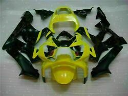 Nt Injection Fairing Black Yellow Kit Fit For Abs Honda Cbr929rr 2000-2001 W06