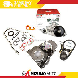 Timing Chain Kit Timing Cover Water Pump 07-16 Gm Chevrolet 5.3 6.0 6.2l Ohv