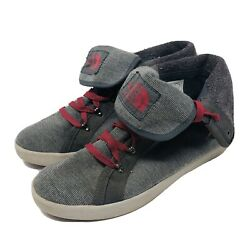 The North Face Women#x27;s Size 8 Shoes Fold Over Casual Comfort Shoes Grey Genuine $44.88