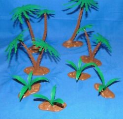 Marx Reissue Palm Trees For Toy Soldiers 54mm 19 Pieces