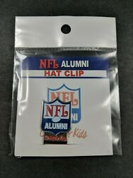 Nfl Alumni Hat Clip With Golf Ball Marker Fits Most Hats New