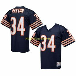 Walter Payton Chicago Bears Home Mitchell And Ness Throwback Legacy Jersey S-2xl