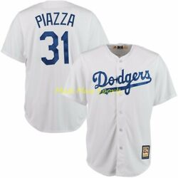 Mike Piazza Los Angeles Dodgers Majestic Mlb Cooperstown Cool Base Jersey S-xxl