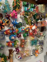 Vintage 1980's Collectible Happy Meal Mc Donalds Lot More Than 60 Figures E92