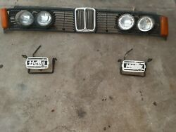 1979 Bmw 320i Coupe Factory Front Grille / Side Blinkers/ Fog Lights/headlights