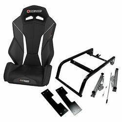 Beard V2 Torque Black Seat With Mount Kit For 2014-2018 Can-am Maverick 1000