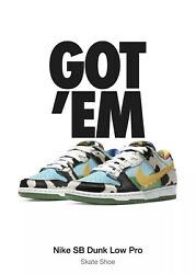 Ben And Jerryandrsquos X Nike Sb Dunk Low Chunky Dunky Size 12 In Hand Ships Today Ds