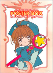 Official Card Captor Sakura Poster Box W/ 30 Posters T-shirt And Booklet
