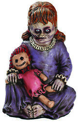 Baby Girl Zombie 12 In Tall Decoration Prop