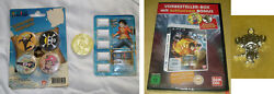 One Piece Pirate Preorder Pack W/ Chopper Necklace And Dvd Coin Gum Gum And Badges