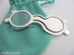 And Co Sterling Silver Magnifying Glass Bookmark Book Mark Rare Vintage