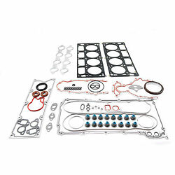 Pc Chevy Ls1 Ls6 Engine Complete Performance Gasket Set W/ Mls Head Bore 3.945