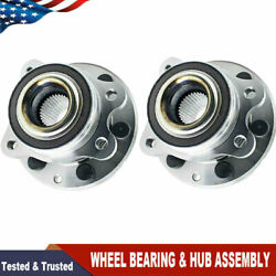 Front Wheel Hubs And Bearing For 2015 2016 2017 2018 Chevy Colorado Gmc Canyon 4x4