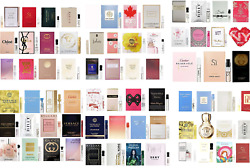 Women Designer Perfume Sample Vials 1 Choose Scents, Combined Shipping
