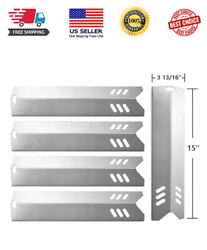 15 Stainless Steel Bbq Gas Grill Heat Plate Shield Tent Replacement For Backyar