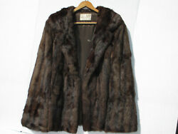 Real Mink Fur Coat - Beautiful Fur Vintage Jacket