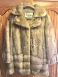 Women's Brown Mink Coat Jacket by Kirschner Furs of Savannah GA