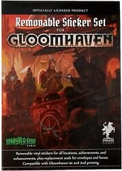 Gloomhaven Removable Sticker Set Licensed Product for Gloomhaven Board Game