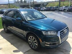 2019 Audi Q7  4 dr SUV Automatic 3.0L V6 Cyl Galaxy Blue Metallic